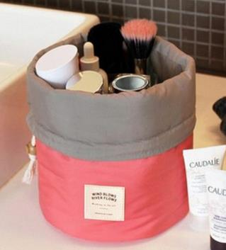 Barrel Travel Cosmetic Bag - whimsyandever
