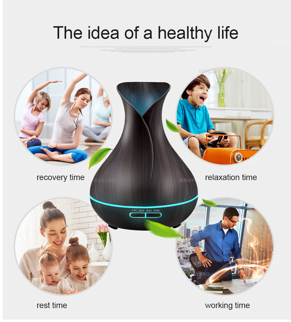 Lotus Essential Oil Humidifier - whimsyandever