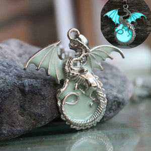 Thrones Dragon Heart Necklace - whimsyandever