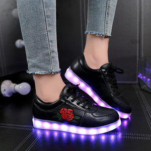 Luminous Rose Sneakers - whimsyandever