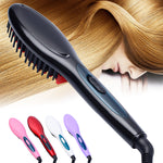 Goddess Hair Straightener Brush - whimsyandever