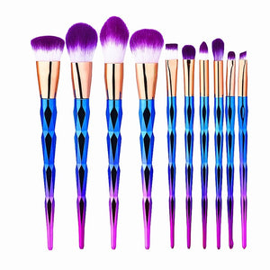 Gold Rainbow Brush Set - whimsyandever