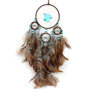 Eagle Feather Pendant Dreamcatcher - whimsyandever