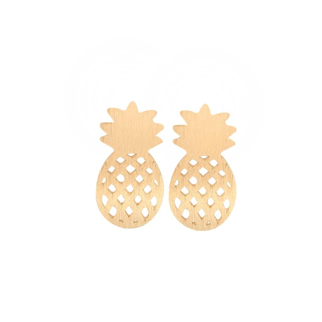 Tropical Pineapple Studs - whimsyandever