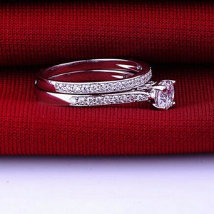 Lovers In Sync Crystal Ring - whimsyandever