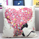Fairy Princess Cushion Cover - whimsyandever