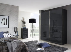 Talara - Colour 181cm Wide Sliding Door Wardrobe  sliding door wardrobe- Blue Ocean Interiors