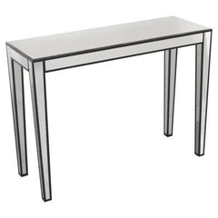Simple Mirrored Console  console table- Blue Ocean Interiors