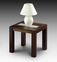 Santiago Lamp Table in Wenge Finish  side table- Blue Ocean Interiors