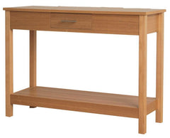 Oakridge Console Table in Oak Veneered Finish  console table- Blue Ocean Interiors