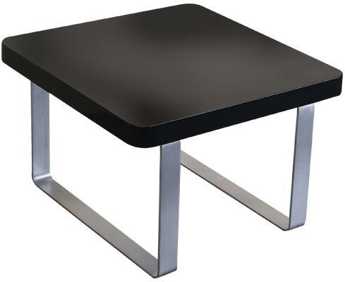 LPD FurnitureAccent  Side/End Table in High Gloss BlackBlue Ocean Interiors
