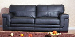 Heartlands FurnitureEnna 3 Seater in Leather & PU Finish 3 Colours AvailableBlue Ocean Interiors
