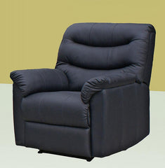Radini Recliner 1 Seater in PU Finish 2 Colours Available  leather sofa- Blue Ocean Interiors