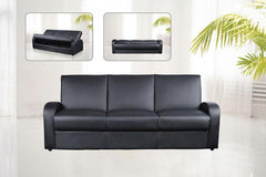 Kimberley Sofa Bed in PU Finish 3 Colours Available  sofa bed- Blue Ocean Interiors