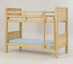 Heartlands FurnitureCorona 3'0'' Single Bunk in Distressed Light  Waxed Pine FinishBlue Ocean Interiors