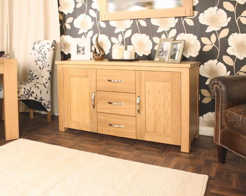 BaumhausAston Oak Large SideboardBlue Ocean Interiors