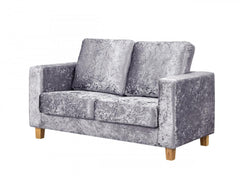 Heartlands FurnitureChesterfield Crushed Velvet Fabric 2 Seater SofaBlue Ocean Interiors
