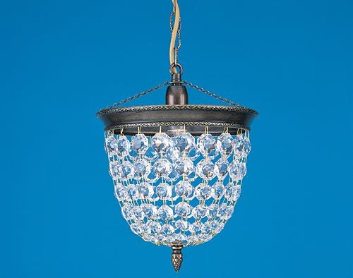 Impex LightingBaguette ST03074/20/01/AN Pendant LightBlue Ocean Interiors