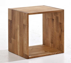 Maximo Cubes In Oak Single Cube  shelving unit- Blue Ocean Interiors