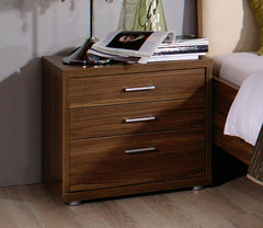 Plus-2 Bedside with 3 Drawers  bedside table- Blue Ocean Interiors