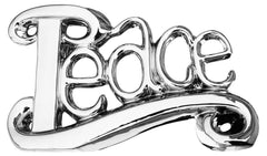 Platinum Peace Sculpture  ornament- Blue Ocean Interiors