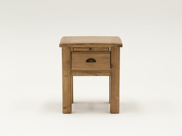 Vida LivingBreeze End Table With Drawer In OakBlue Ocean Interiors