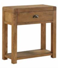 Oakridge Dark 1 Drawer Hall Table