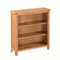 Hartford Country Oak Low Bookcase  bookcase- Blue Ocean Interiors