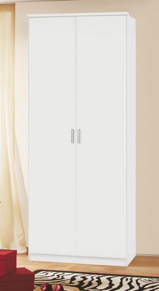 RauchBlitz 2 Door Hinged Wardrobe with ShelvesBlue Ocean Interiors