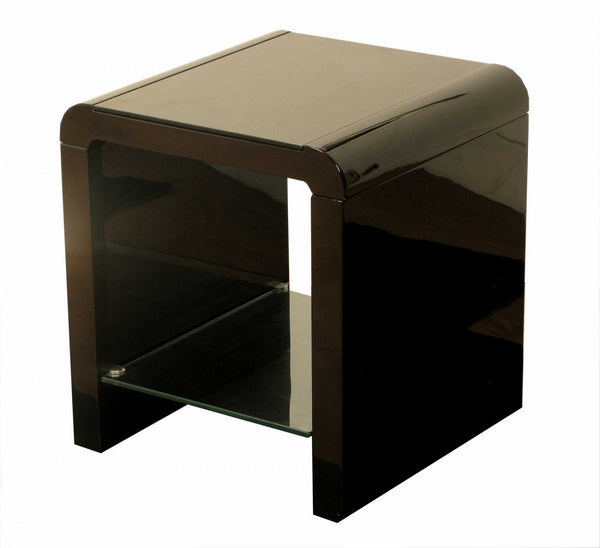 AnnaghmoreAtlantis Clarus End Table BlackBlue Ocean Interiors