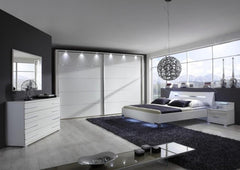 Hollywood Sliding Door Wardrobe 250cm Wide Available in 6 Colours  sliding door wardrobe- Blue Ocean Interiors