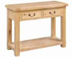 AnnaghmoreClonmel 2 Drawer Console TableBlue Ocean Interiors