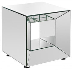 Mirrored Cube FM686  shelving unit- Blue Ocean Interiors