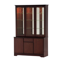 GolaClifton and Downton Display Cabinet with Mirror BackBlue Ocean Interiors