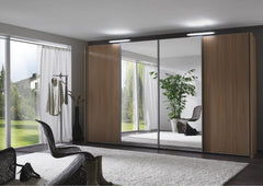 Miami 2 Sliding Door Wardrobe Mirror Doors  sliding door wardrobe- Blue Ocean Interiors