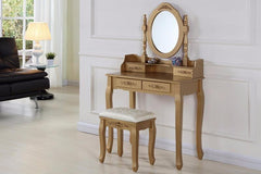 Jessica Dressing Table Set  dressing table- Blue Ocean Interiors