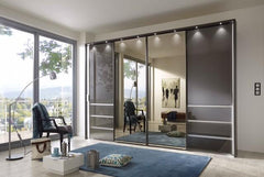 Malibu Sliding Door Wardrobe 330cm Wide  sliding door wardrobe- Blue Ocean Interiors