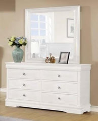 Horizon 6 Drawer Dresser  dressing table- Blue Ocean Interiors