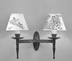 Wentworth SMRR00302/MBLK Wall Light
