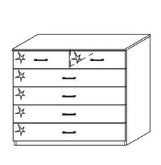 RauchEllwangen 4+2 Drawer ChestBlue Ocean Interiors