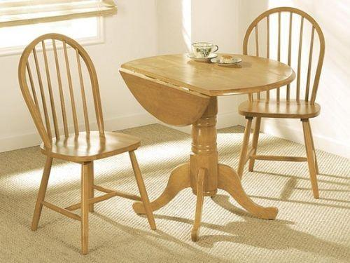 Vida LivingBrecon Round Dining Table With 2 ChairsBlue Ocean Interiors