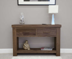 The Walnut Collection Console Table  console table- Blue Ocean Interiors