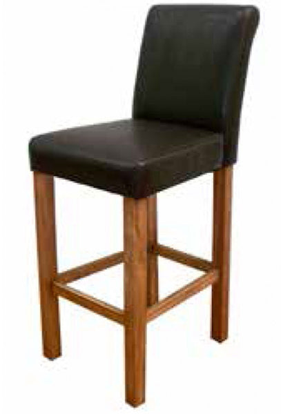 Vida LivingCarlton Bar Stool In BlackBlue Ocean Interiors
