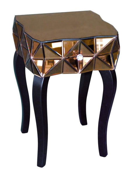 Eco FurnitureBronze Mirrored Table KFC190ACBlue Ocean Interiors
