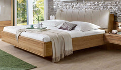 Serena Bedframe with Floating Footboard  wood bed- Blue Ocean Interiors