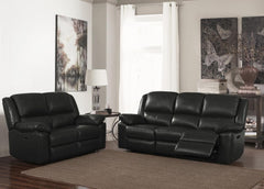Toledo Leather and PVC 3+2 Sofa Set  leather sofa- Blue Ocean Interiors