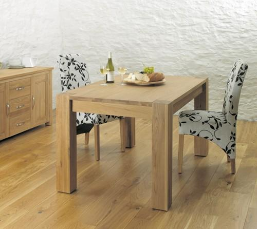 BaumhausAston Oak Dining Table (4-6 Seater)Blue Ocean Interiors