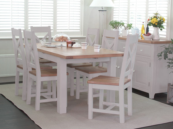 Vida LivingClemence 120cm Extending Dining Table with 4 ChairsBlue Ocean Interiors