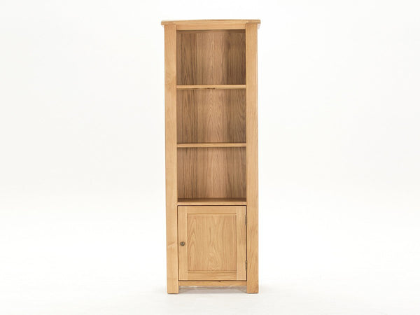 Vida LivingBreeze Tall Bookcase In OakBlue Ocean Interiors