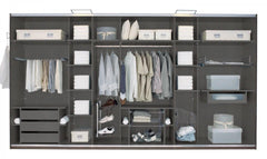 Interior Extra Side Pull Out with 3 Shoe Rack  extra- Blue Ocean Interiors